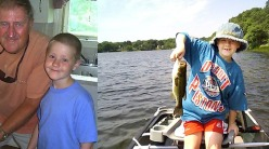 patric mccarthy with his grandfather and fishing